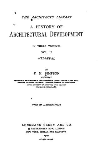 A History of Architectural Development …