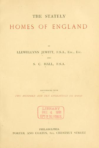 Download The stately homes of England