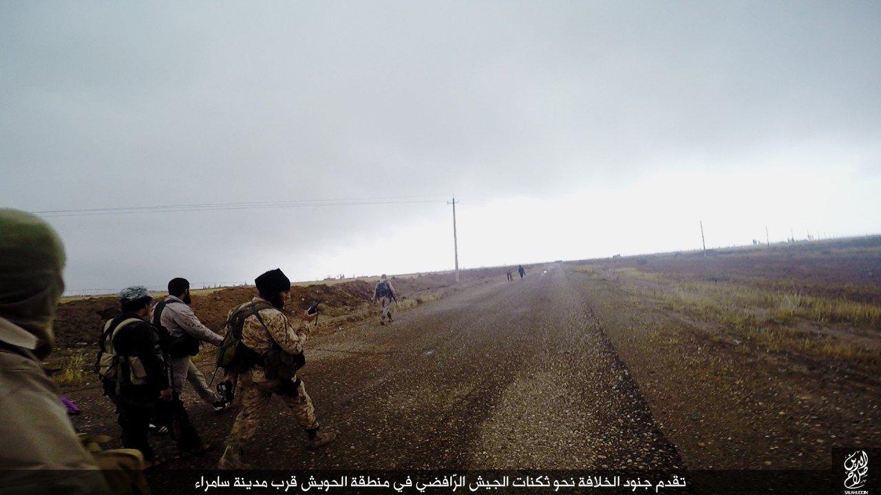الدولة الإسلامية تقاتل على أبواب سامراء 02