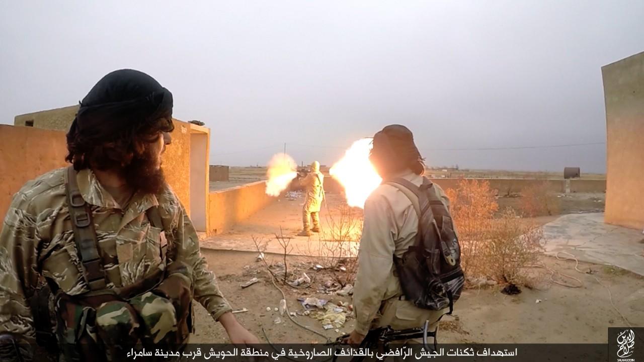 الدولة الإسلامية تقاتل على أبواب سامراء 09