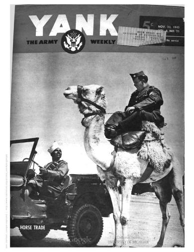Yank, the Army Weekly by